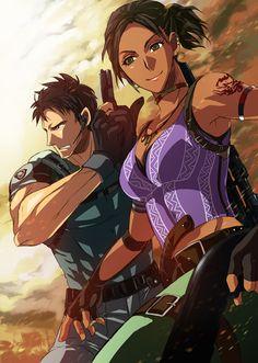 Resident Evil 5, Chris & Sheva