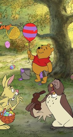 Best Collections of For Pooh Bear & Friends Wallpaper Disney, iPhone backgrounds and CartoonDesktop, Laptop and Mobiles. Winnie The Pooh Cartoon, Cute Winnie The Pooh, Winne The Pooh, Winnie The Pooh Quotes, Winnie The Pooh Friends, Disney Phone Wallpaper, Cartoon Wallpaper, Wallpaper Fofos, Disney Aesthetic