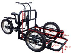 Italian Cargo Bike and Work Tricycle for Eco Friendly Transport in the City. We produce also Street Food Carts and Ice Cream Bike Carts on Tricycle Front Brakes, Rear Brakes, Bike Cart, Tricycle Bike, Trike Bicycle, Velo Cargo, Ice Cream Cart, Off Road Tires, Coffee Carts