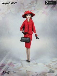 Tenue Outfit Accessoires Pour Fashion Royalty Barbie Silkstone Vintage 1448 | eBay