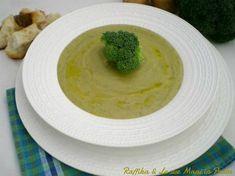 Vellutata di patate e broccoli, ricetta delicata - Creamed potatoes and broccoli, delicate recipe