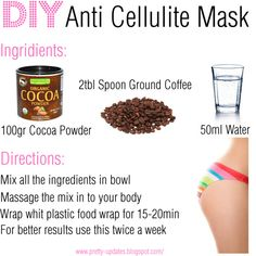 DIY Anti Cellulite Mask by pretty-updates, via Polyvore