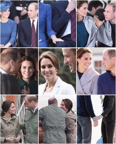 A few of the William and Kate moments 😍