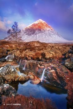 Buchaille Etive Mor by Jarrod Castaing on 500px Sunrise over Buchaille Etive Mor near Glencoe in Scotland, UK.