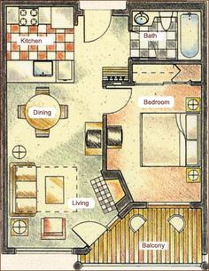 ideas about One Bedroom House Plans on Pinterest   One    Juniper Springs Lodge   Mammoth ski in ski out condo rental Mammoth Lakes vacation rental by ownerner Mammoth lodging accommodations rental condos located