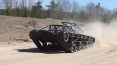 EV1: Extreme Vehicle One - HOWE AND HOWE TECHNOLOGIES : Non-military version of Ripsaw vehicle