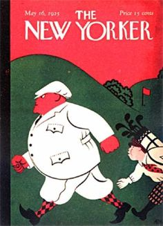 The New Yorker, cover 1925