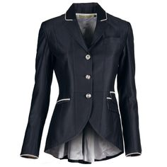 My favorite Dressage Couture jacket.  Sheen gives a added edge.