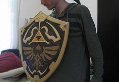 Hyrule Shield de madera | La Guarida Geek