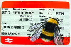 train ticket artwork - Google Search