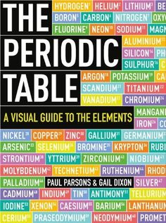 The Periodic Table: A Visual Guide to the Elements, http://www.amazon.com/dp/1623651107/ref=cm_sw_r_pi_awdm_b7XQtb1HWPPB5