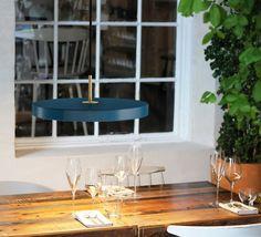 Asteria anders klem suspension pendant light  vita copenhagen #nedgis #blue #lamp #lighting #design