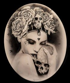 There's really nothing Brian M. Viveros does that I DON'T love, but this is one of my special favs...... Brian was featured in our Sept 2013 issue of Beautiful Bizarre Magazine. All current & back issues can be found at www.beautifulbizarre.net/shop