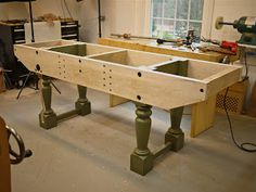 Brese Plane: Nicholson Bench, Almost Finished