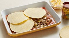 Get this cheesy, Mexican-inspired meal on the table in 45 minutes.