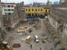 Estado actual del centro histórico de Lima