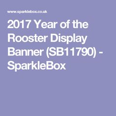 2017 year of the rooster display banner sb11790 sparklebox chinese new year calendar