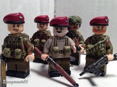 WWII British SAS Custom Minifigures