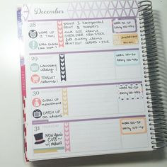 Erin Condren Horizontal Life Planner ~I like where the work sticker is placed Study Planner, Planner Tips, Goals Planner, Happy Planner, Weekly Planner, College Planner, College Tips, Printable Planner, Planner Stickers