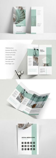 Design a stunning brochure in minutes. Get Brochure Design Services here. Showcase your business, products, and services when you create custom brochures. Brochure Indesign, Template Brochure, Brochure Layout, Brochure Trifold, Brochure Ideas, Indesign Templates, Product Brochure, Product Poster, Flyer Layout