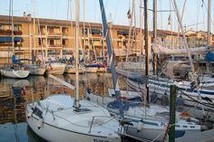 Boats in Grado (Gorizia - Italy).
