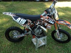 2012 KTM 65 SX super fast bike needs a new rider sad for me, glad for you