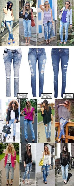 2- Jeans Destroyed como usar copy