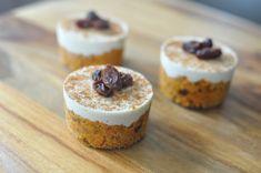Use crust for energy bites! Raw Vegan Desserts, Raw Vegan Recipes, Paleo Dessert, Vegan Sweets, Dessert Recipes, Healthy Desserts, Dessert Ideas, Healthy Cooking, Vegan Food
