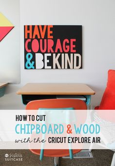 How to Cut Wood with the Cricut Explore