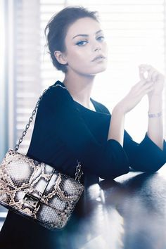 Mila Kunis photographed by Mikael Jansson for Dior Spring 2012