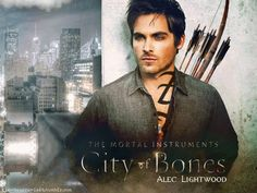 Kevin Zegers as Alec Lightwood. 0_0 when you realize he's from Air Bud