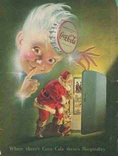1939 - Coca-Cola advertising