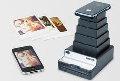 Love this iPhone Polaroid printer! Would be so neat to keep in the baby's room and pin up as we go as we take pics of the little tyke.