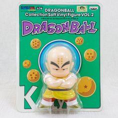 Dragon Ball Z Krillin Collection Sofubi Figure 2 Banpresto JAPAN ANIME