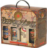 BEERS OF THE WORLD 8 PACK BOTTLES