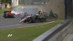 GP CANADA 2016 . Crash Fernando Alonso. The other pilot Esteban Gutierrez