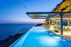Infinity Pool in großartiger Lage - dieses Ferienhaus muss man nicht verlassen, um einen gelungenen Urlaub zu verbringen! | Livadia, Griechenland, Objekt-Nr. 869068