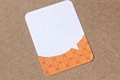 Create Speech Bubble on journalling cards