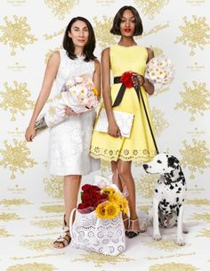 Kate Spade's Squad for the SS 2016 Campaign | Fashionisers