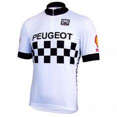 Peugeot/Shell Retro Team Jersey - Short Sleeve