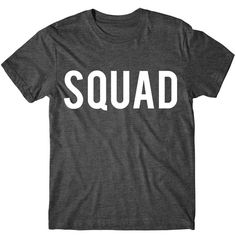 Metallic Gold Print Squad Graphic Tshirt Womens Graphic Tee Metallic... ($14) ❤ liked on Polyvore featuring tops, t-shirts, black, women's clothing, graphic t shirts, pattern t shirt, sleeve t shirt, glitter t shirts and tee-shirt