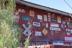 Abandoned restaurant in Bellville Texas