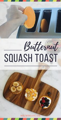 How to Make Butternut Squash Toast | Did you know you can put a slice of…