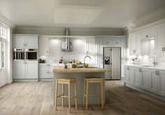 Ashbourne Duck Egg & Chalk http://www.academyhome.co.uk/products/kitchens/kitchen-ranges/shaker
