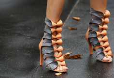 Balenciaga resort shoes.Details In Streetstyle