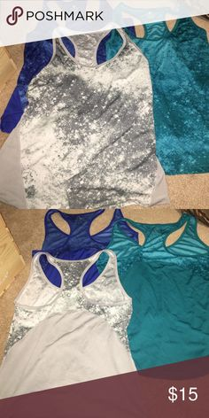 Dri-fit Tank Tops All three are same material from Old Navy. Great condition only work a couple times if that. Old Navy Tops Tank Tops