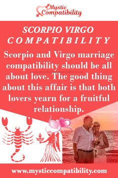 Scorpio and Virgo marriage compatibility should be all about love. The good thing about this affair is that both lovers yearn for a fruitful relationship. #Scorpio #Virgo #marriage_compatibility #Zodiac_Signs Virgo Scorpio Compatibility, Virgo And Scorpio, Scorpio Facts, Leo And Scorpio Relationship, Scorpio Relationships, Best Relationship, Zodiac Memes, Zodiac Signs, August Born