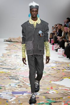 Male Fashion Trends: Angus Chiang Fall-Winter 2017 - London Fashion Week