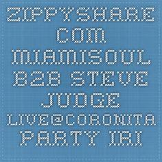 Zippyshare.com - Miamisoul b2b Steve Judge LIVE@Coronita party Irish Pub SK (07.02.2015).mp3