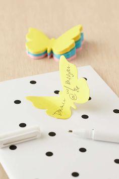 Butterfly Sticky Notes Pack